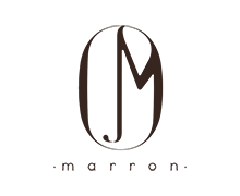 Marron  cake Bakery  logo in black color